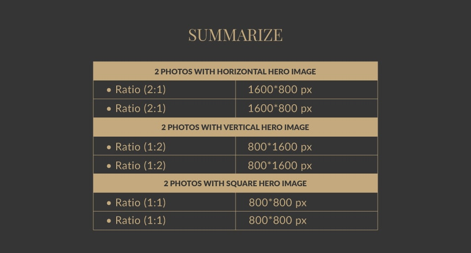 Facebook Size Guide For Photo Posts